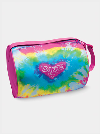 Girls Tie Dye Heart Duffle Bag - Style No B555