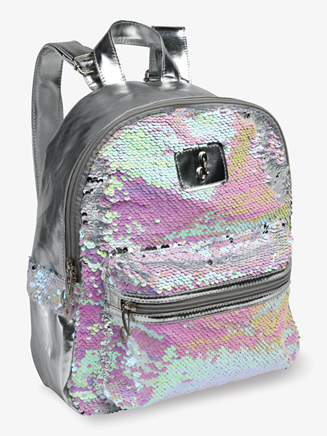 Pearlescent Flip Sequin Dance Backpack - Style No B835