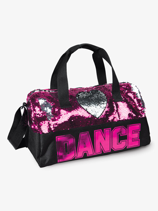 Flip Sequin Heart Dance Duffel Bag - Style No B842