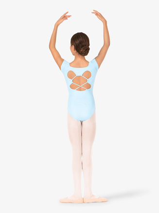Girls Strappy Back Short Sleeve Leotard - Style No BT5172Cx