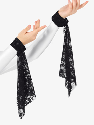 Womens Lace Worship Wrist Drape - Style No BT5192x