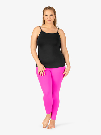 Womens Plus Size Team Basic Compression Camisole Dance Top - Style No BT5200Px