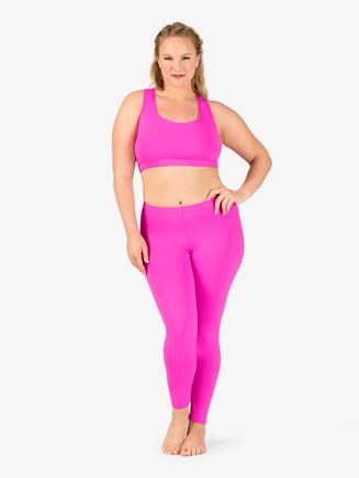 Womens Plus Size Team Basic Compression Dance Bra Top - Style No BT5202Px