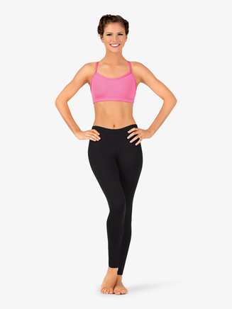 Womens Team Basic Compression Dance Legging - Style No BT5207