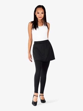 Womens Plus Size Faux Skirt Dance Leggings - Style No BT5231P