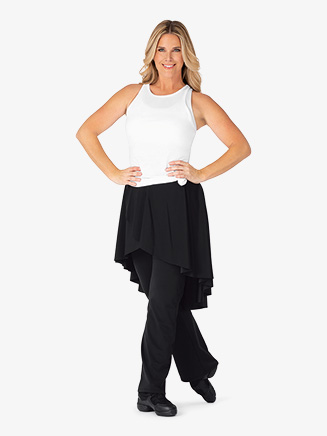 Womens Faux Skirt Bootcut Dance Pants - Style No BT5233