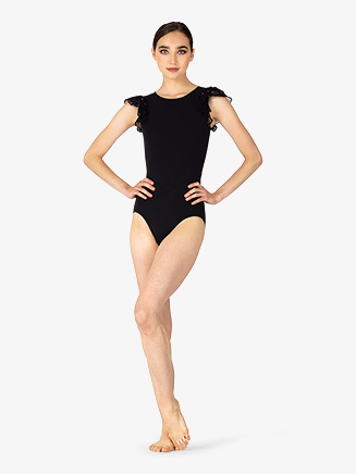 Womens Diamond Mesh Back Leotard - Style No BT5276