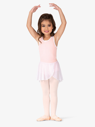 Girls Pull-On Mesh Ballet Skirt - Style No BT5281C