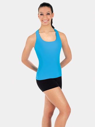 Child Long Tank Racerback Top - Style No BWP014