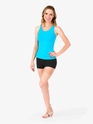 Adult Long Tank Racerback Top - Style No BWP214
