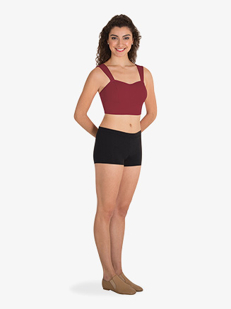 Womens Performance Sweetheart Tank Crop Top - Style No BWP9005