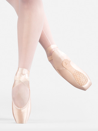 Airess Broad Toe Pointe Shoe #5.5 Shank - Style No C1130x