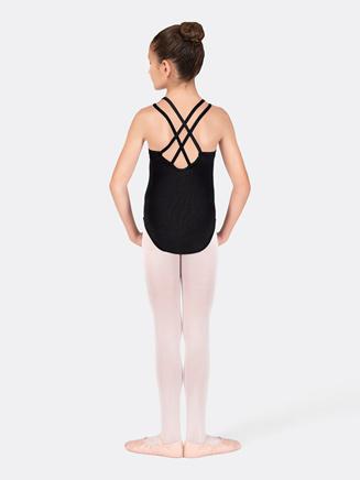 Girls Camisole Double Strap Leotard - Style No CC123C