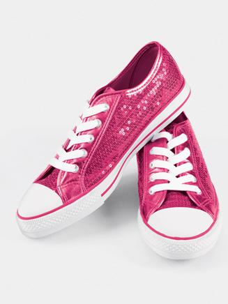 Girls Sequin Sneaker - Style No CHUXC