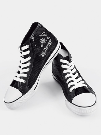 Girls Hi-Top Sequin Sneaker - Style No CHUXHIC