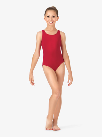Child Scoop Neck Leotard - Style No CL5405