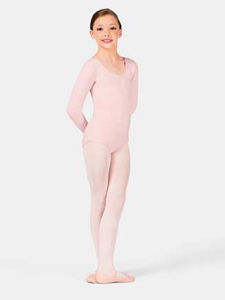 Girls Long Sleeve Dance Leotard - Style No CL5409