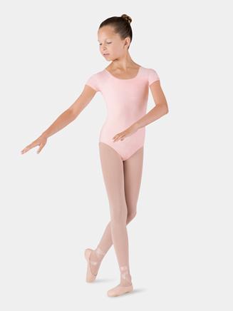 Girls Essential Short Sleeve Leotard - Style No CL5602
