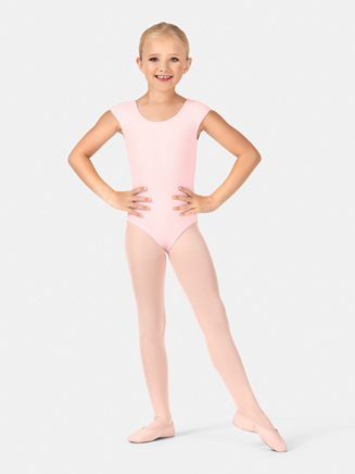 Child Cap Sleeve Bow Leotard - Style No CL8822