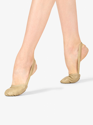 """Womens """"Compass"""" Leather Lyrical Half Sole - Style No CPSSx"""
