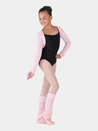 Girls Reiko Shrug Long Sleeve Sweater Top - Style No CZ6539B