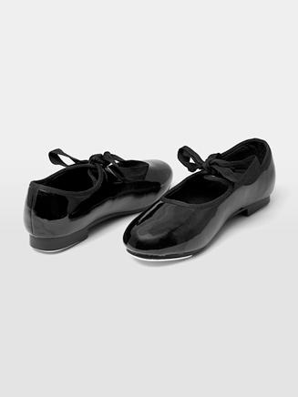 Child Ribbon Tie Tap Shoe - Style No DCT101x