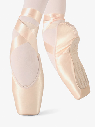 """Womens """"Diva"""" Satin Pointe Shoes - Style No DIVA"""