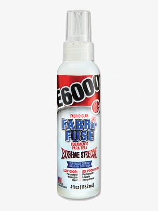 E6000 4 Oz. Fabric Glue - Style No E6000FF