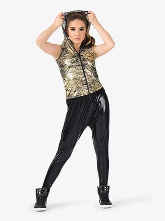 "Womens Performance ""Flexx"" Zipper Hooded Tank Top - Style No EL227"