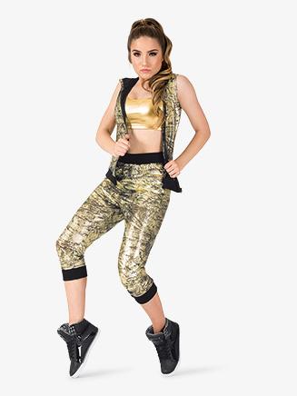 "Womens Performance ""Flexx"" Metallic Sweat Pants - Style No EL228"