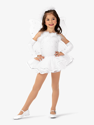 "Girls ""Angel"" Camisole Character Dance Dress Set - Style No EL280C"
