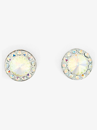 Iridescent Stone 18mm Post Earring - Style No EP12AI