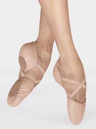 """Elastosplit X"" Adult Split-Sole Leather Ballet Slipper - Style No ES0250L"