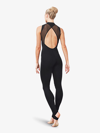 Womens Open Back Stirrup Tank Unitard - Style No FM5151