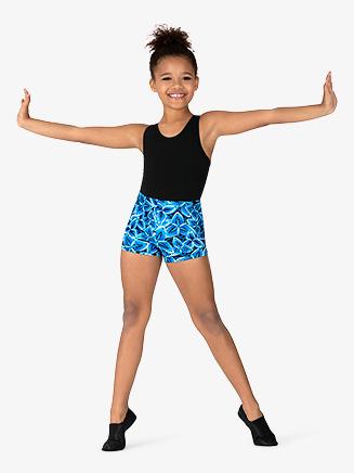 "Girls ""Windmill"" Dance Shorts - Style No GB167C"