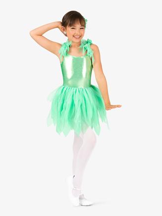 """Girls """"Pixie"""" Handkerchief Character Costume Tutu Dress - Style No GRA137C"""
