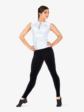 Womens Velvet Dance Leggings - Style No ING218