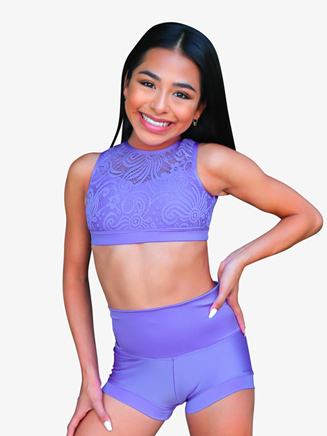 Womens Nylon Dance Shorts - Style No KK6900