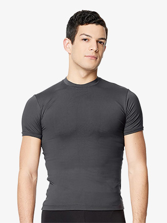 "Mens ""Ferdinand"" Microfiber Short Sleeve Dance T-Shirt - Style No LUB309M"