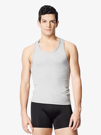 "Mens ""Lucas"" Microfiber Racerback Tank Dance T-Shirt - Style No LUB311M"
