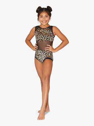 Womens Leopard Print Tank Leotard - Style No LV6000