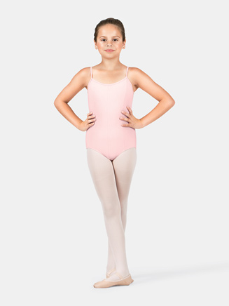 Girls Cotton Camisole Leotard - Style No M207C