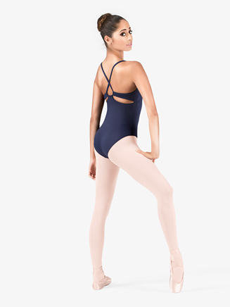 Adult Camisole Keyhole Back Leotard - Style No M2639