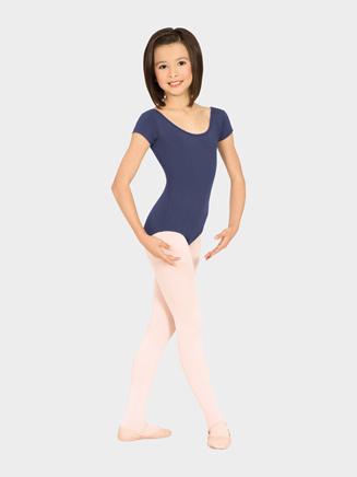 Girls Short Sleeve Leotard - Style No M515CD