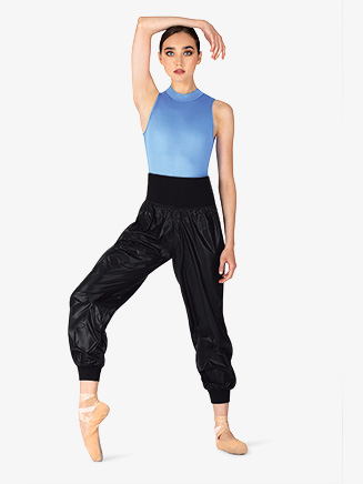 Womens Wide Waistband Ripstop Dance Pants - Style No M6041L