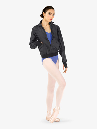 Womens Zip Front Warm Up Jacket - Style No M7043L