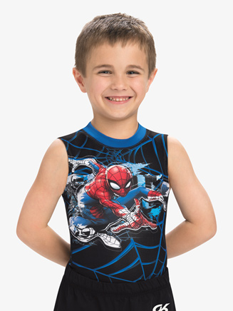 Boys/Mens Marvel Spidey Senses Compression Shirt - Style No MV032C