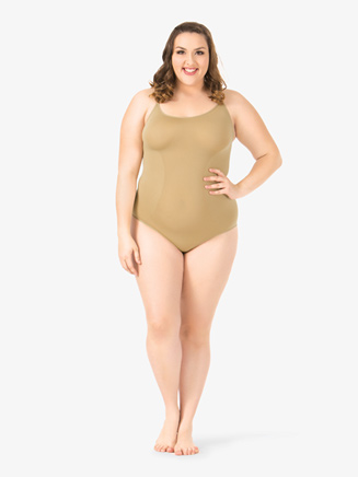 Adult Plus Size Camisole Leotard - Style No N234W