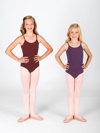 Child Cotton Blend Camisole Dance Leotard - Style No N5500C
