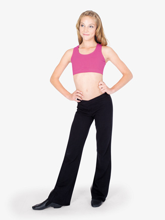 Child Cotton V-Front Jazz Pant - Style No N5504C